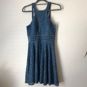 City Studio Blue Womans Dress